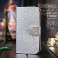 Hot!Fashion Book Flip Shiny Skin PU Leather Stand Phone Case For Lenovo S898T S8 Cover With Safe Buckle and Card Holder