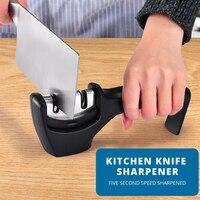 IVRICH 3 точилка для ногтей Сталь камень Вольфрам Сталь Керамика шлифовальный инструмент Съемная точильная Кухня точилка KS001