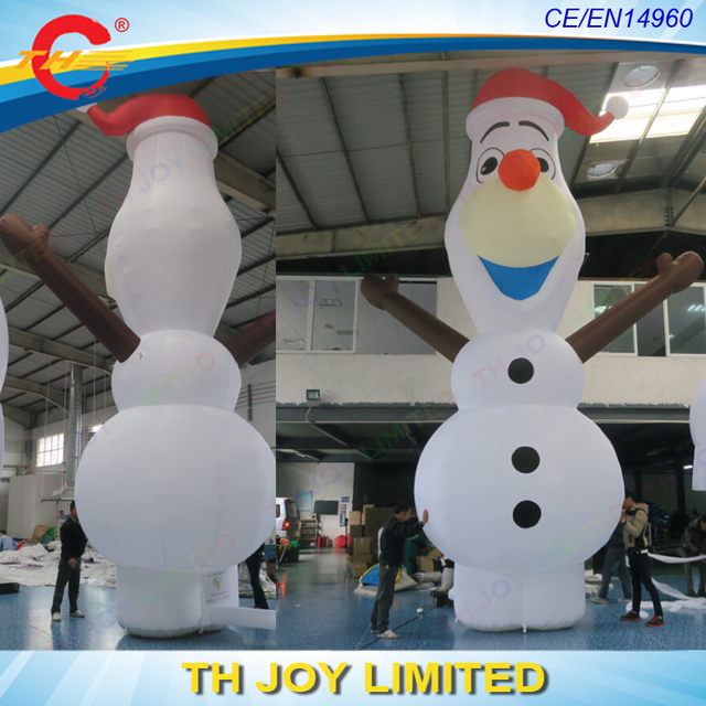 free air shipping giant christmas olaf inflatables olaf snowman giant inflatable olaf iceman for christmas