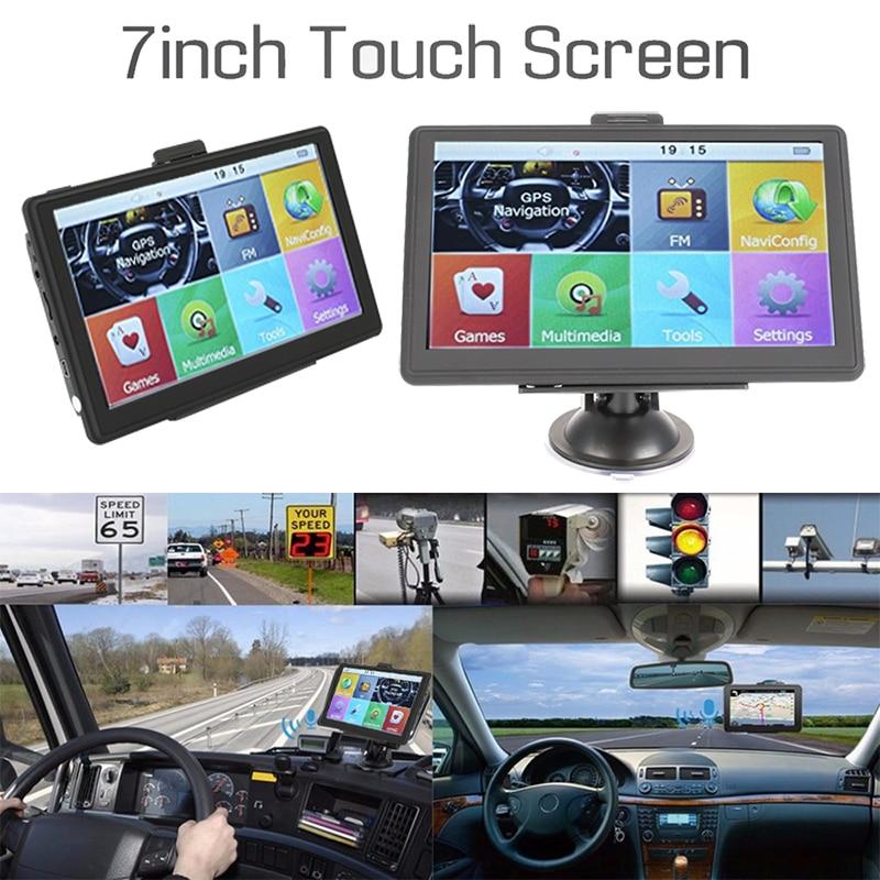 Vehemo 8 Гб навигатор для грузовиков gps навигатор видео 800 МГц для Android Навигатор Автомобильный gps навигация Универсальный автомобильный аудио