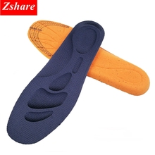 3D Memory Foam Sports Insole Orthotics Arch Support Shoes Insoles Man Women Flat Feet Pad Stretch Running Breathable Insoles LD недорого