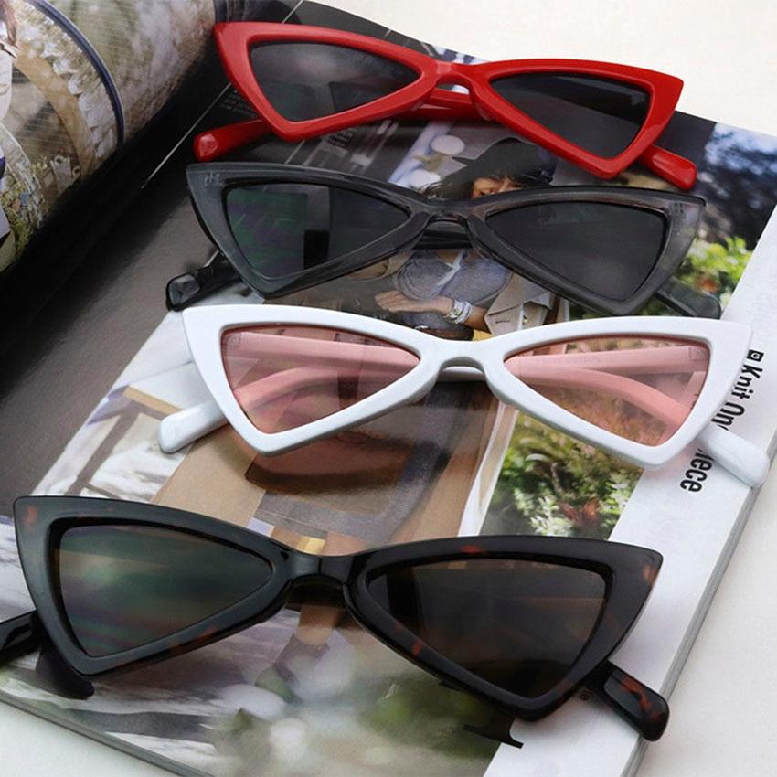 Acheter Mignon sexy rétro cat eye lunettes de soleil fille femmes petit  triangle vintage lunettes de soleil des femmes uv400 FDA CE TEST Pas Cher  Prix 8f2fbc5effb2