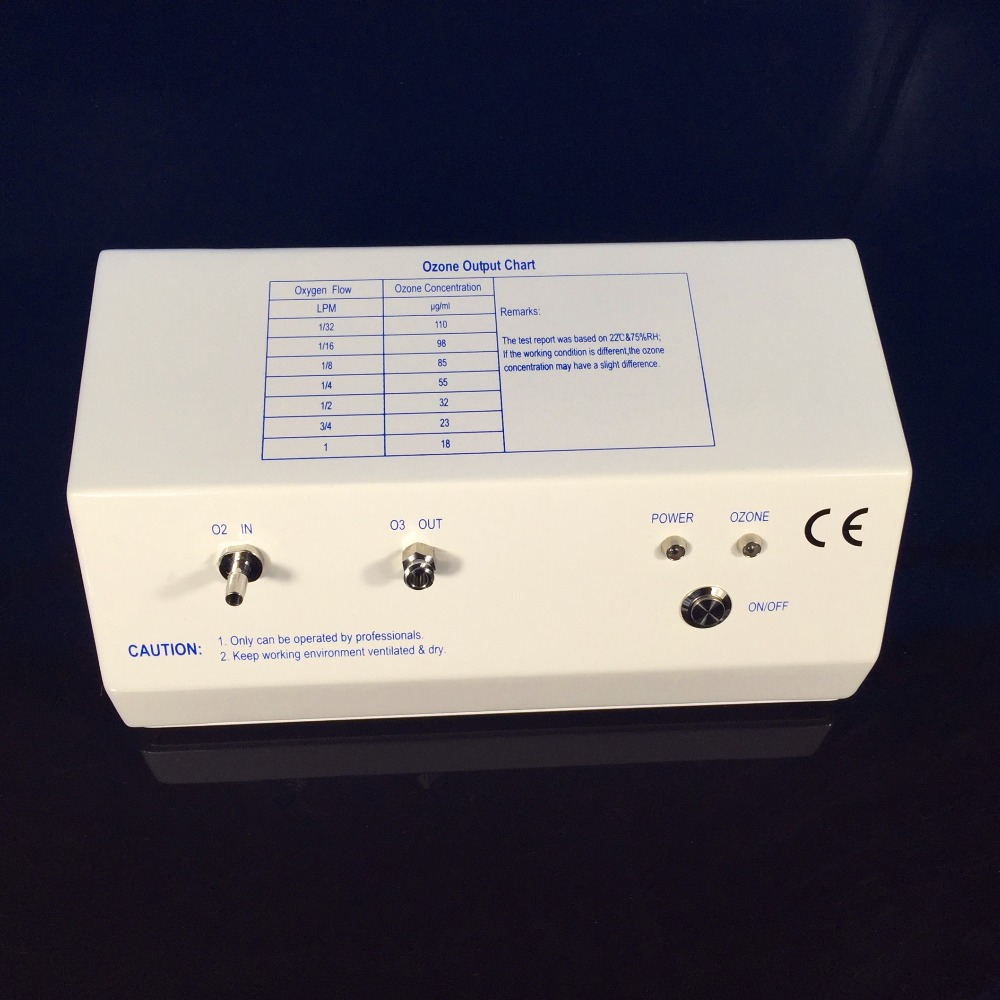 CE,EMC,ROHS approved TITANIUM electrode ozone therapy generator, medical ozone generator concentration up to 110ug/ml цены