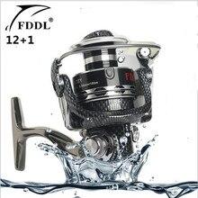 FDDL Brand Aluminum alloy Line cup 13 axis Fishing Reel Full Metal Fishing Reels Ball Bearings Type Reel roller sea rod fishing