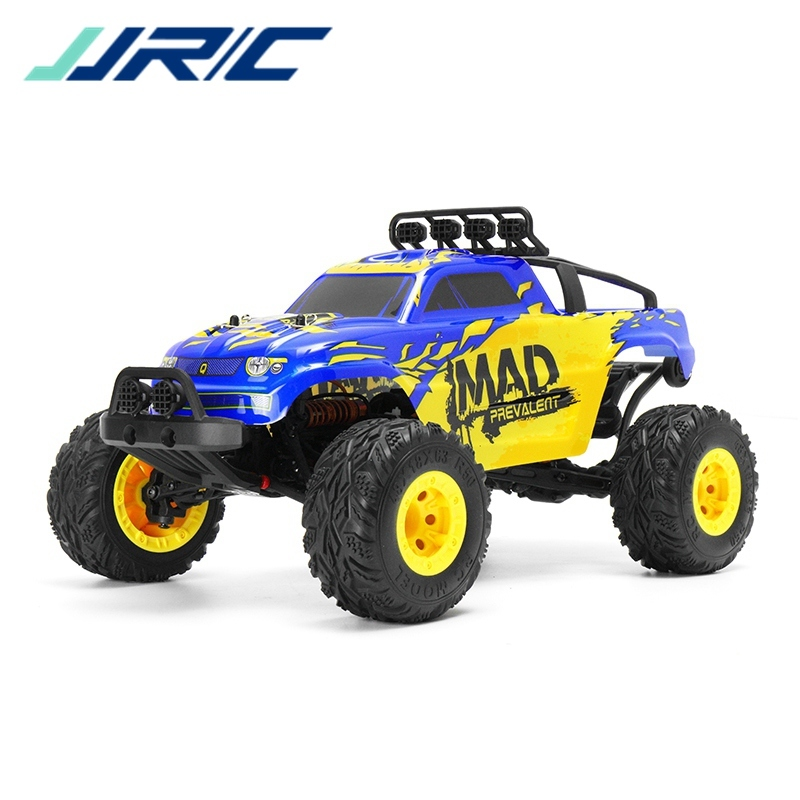 Big Car JJRC Q40 1:12 2.4G 4WD Short-course Truck Rock Crawler Off Road RC Car Mad Man Remote Control Car VS Q39 WLtoys 12428 wltoys 12428 12423 1 12 rc car spare parts 12428 0091 12428 0133 front rear diff gear differential gear complete
