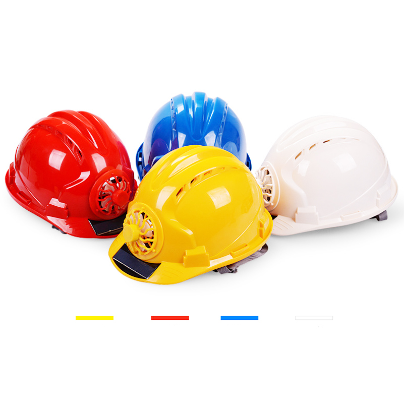 Working Safety Hard Hat Solar Power Fan Helmet Outdoor Construction Workplace ABS Protective Cap Waterproof Powered Solar PanelWorking Safety Hard Hat Solar Power Fan Helmet Outdoor Construction Workplace ABS Protective Cap Waterproof Powered Solar Panel