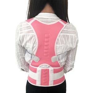Image 5 - Magnetic Posture Corrector for Women Men Orthopedic Corset Back Support Belt Pain Back Brace Support Belt Magnets Therapy B002