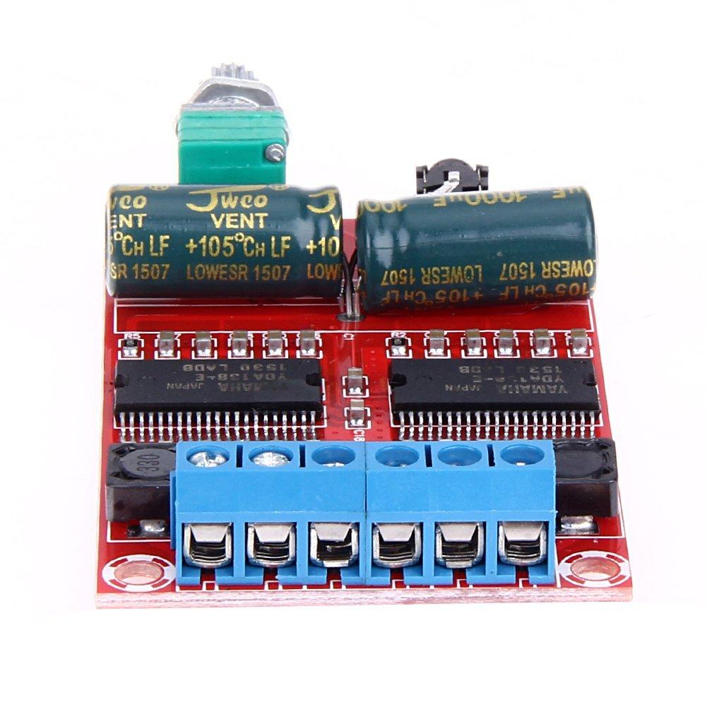 Dual Channel Audio Stereo Digital Amplifier Board for Yamaha HIFI Audio Stereo Class D Amplifier Board YDA138-E