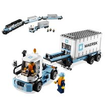 Lepin Technic 21006 The Maersk Train Model Building Blocks Toys For Children Bricks Compatible Legoing Technics 10219 Figures(China)