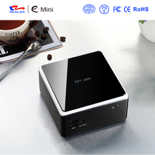 8 GB de RAM 128 GB SSD Mini pc windows 1080 p hdmi, marca quad core Mini PC Industrial de último diseño de cliente ligero wifi/Bluetooth
