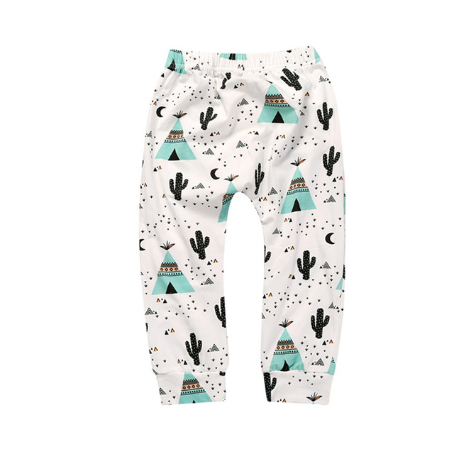 Baby Boys Trousers For Girls Hot Arrival Geometric Pattern PP Pants Newborn Toddler Harem Pants Fashionable Variety Of Pants 23