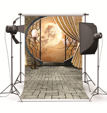 Fond Studio Photography Backdrops Prop Chinese Style Screen Indoor Vinyl Photo Backgrounds for Photo Studio for Wedding Children