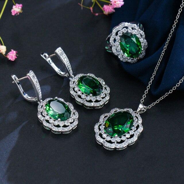 BeaQueen 3 Pieces Big Green...