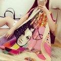 Мода Новый стиль Шарфы Хлопок Полиэстер для Женщина Зима Шеи Теплый Длинные горячая Испания Шарф Длинный Чешские Шаль