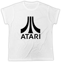 Atari T Shirt Gaming Retro Vintage Ideal Gift Present Unisex Funny T Shirt Sleeve T Shirt