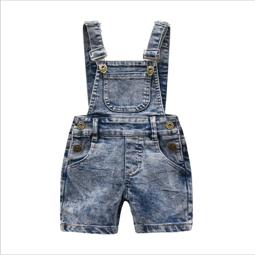 Fashion Toddler Kids Baby Boys Girls Denim Bib Pants Overalls Jean Outfits