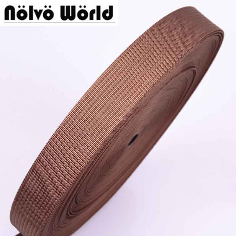 38mm 1.5 wide 1.35mm thick Eco-Friendly camel polyester for DIY camera strap camera shoulder bags wristband on sale