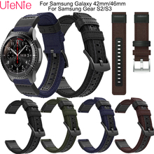 20 22 mm Strap For Samsung Gear S3/Gear S2 frontier/classic wristband For Samsung Galaxy 46mm/Galaxy 42mm smart watch bracelet цена 2017
