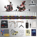 Complete Tattoo Kit 2 machine Gun 20 Color Inks Power Supply D175GD