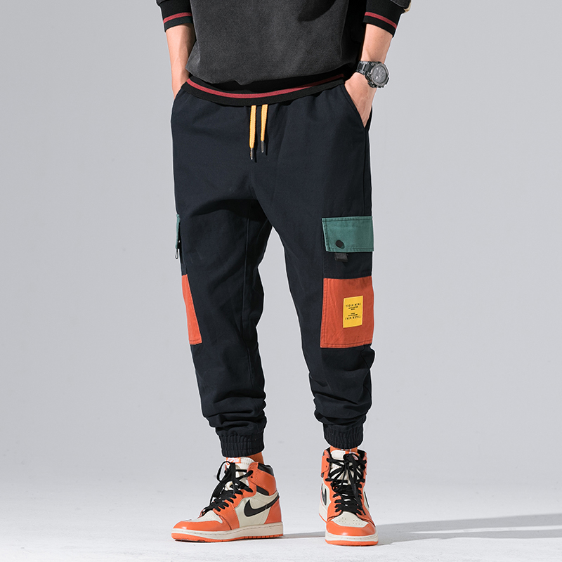 2019 New Autumn Military Track Pants Men Fashion