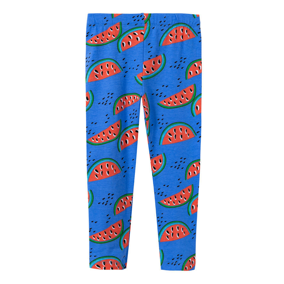 Jumping Meters Watermelon Blue Printed Baby Girls Leggings Animal Kids 100% Cotton 2018  ...