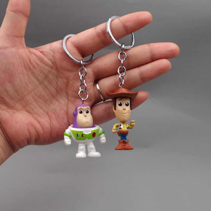 Фильм форки плюшевые игрушки сказочная 4 Вуди и Джесси Базз Лайтер фигурка инопланетяне лотсо брелок игрушки для детей и взрослых подарки горячие игрушки