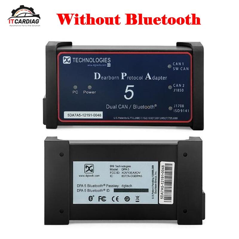 Dpa5 дорогой born протокол адаптер 5 Heavy Duty Truck сканер для грузовиков грузовик диагностический инструмент же функцию USB связь по беспроводной сет
