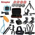KingMa For Polaroid Cube+ Waterproof Case 12-in-1 Accessories Kit for Polaroid Cube and Cube+ Accesorios set