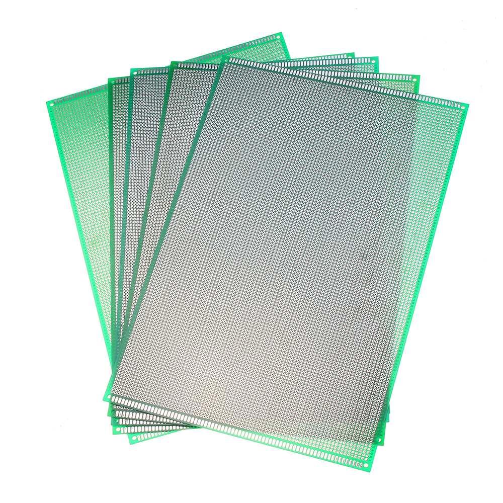Печатная плата для печатной платы, 5 шт., 20х30 см, 2,54 мм, с одной стороны, прототип печатной платы