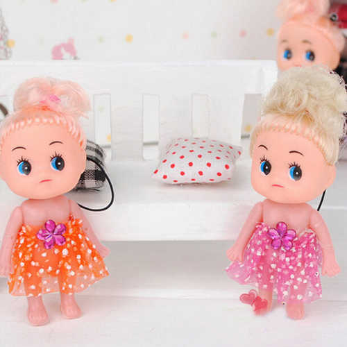 1 pcs Crianças Dos Desenhos Animados Car Keychain Bonito Anime Toy Boneca de Pelúcia Brinquedo Do Bebê Quente
