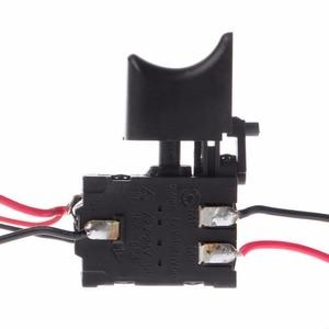 Image 2 - 電気ドリル防塵速度制御プッシュボタントリガーパワーツール DC 7.2 24 220v スイッチ