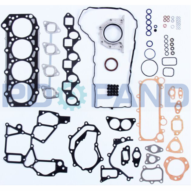 ZD30 ZD30DDTI Engine Overhaul Gasket Kit  For Nissan Patrol GR II Wagon Y61 3.0 DTI  For NAVARA (D22) 3.0 TD With Oil Seals Set