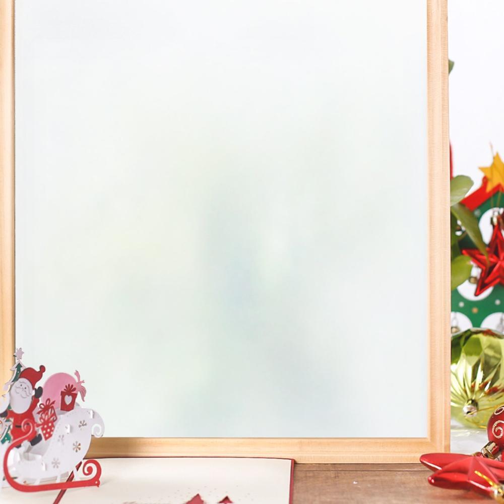 Funlife 90x200cm Privacy Self Adhesive Frosted Glass Window Film Static Cling Window Sticker No Glue Anti UV Vinyl Glass Film