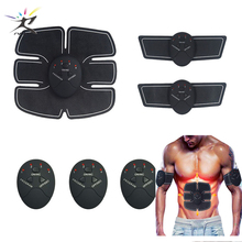 Abdominal EMS Trainer Muscle Stimulator Smart Training Stickers Fitness Equipment ABS Belly Massage Gym Exercise