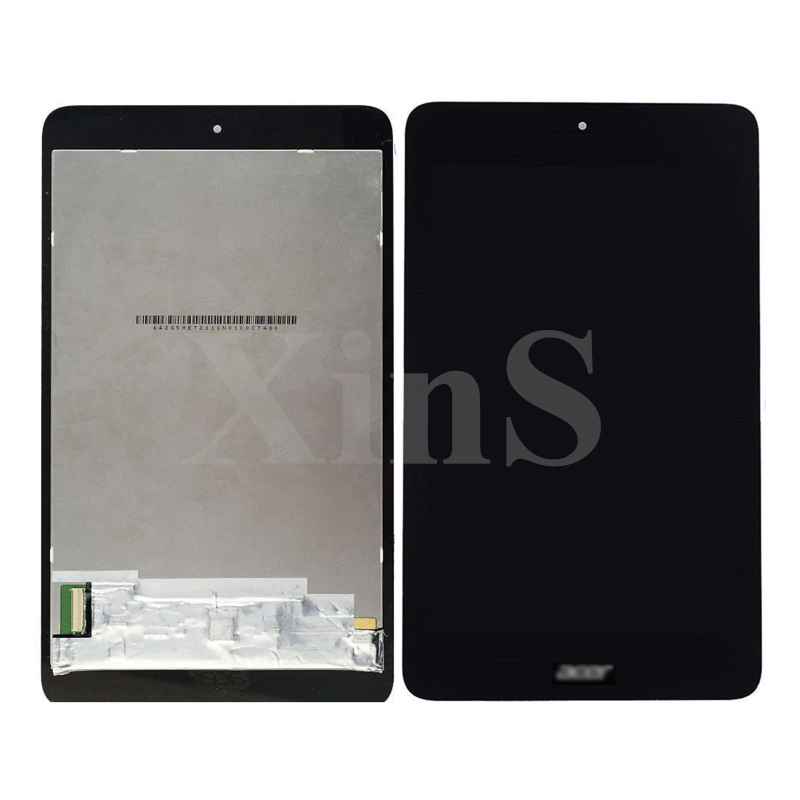 For Acer Iconia one 7 B1-750 B1 750 New Full White Black LCD Display Monitor + Touch Panel Screen Digitizer Glass Lens Assembly