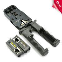 TKDMR RJ11 RJ12 RJ45 RJ9 6P DEC 8P 6P Network Cable Stripper Crimp Tool Tester LAN