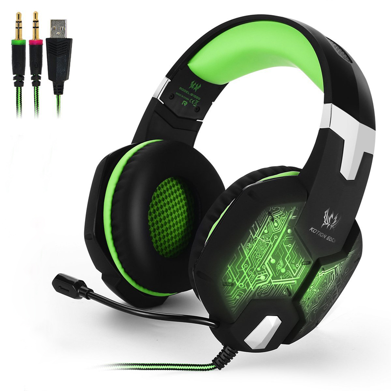 casque Gamer Headphone With Microphone For PC Gaming Headset Computer Earphone Gaming Headphone For Computer With Microphone gamer