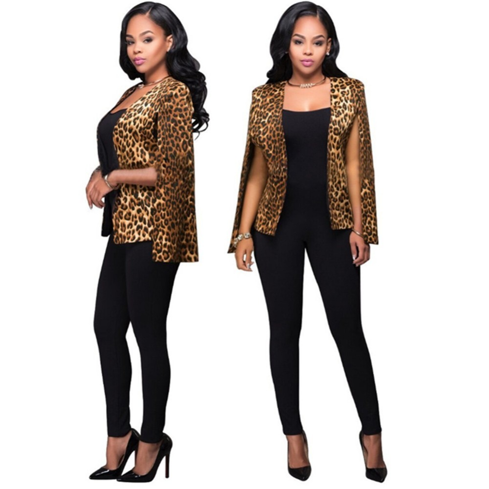 Cocktail Party Suit Part - 29: Aliexpress.com : Buy Spring /Autumn 2016 New Hot Sale Modern Fashion Sexy  Slim Party Leopard Women Cocktail Party Suit Coat Free Shipping From  Reliable Coat ...