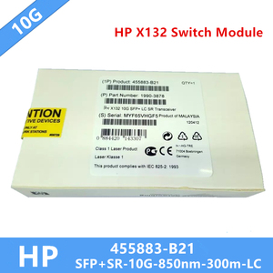 Image 2 - 1pcs HP 10G SR SFP+ 455883 B21 SFP+Transceiver Module 850nm MMF 300m DDM LC Need more pictures, please contact me