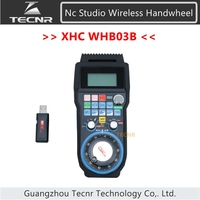 Nc studio USB Wireless Remote Handle DSP Control handle MPG for cnc router WHB03B