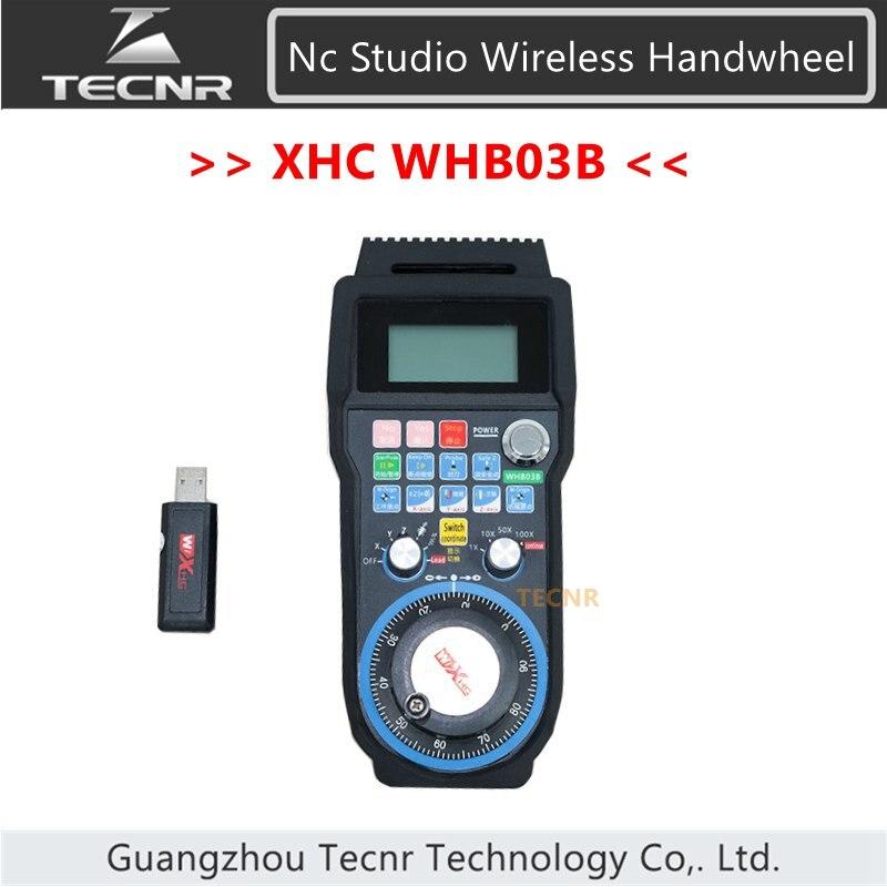 Nc studio USB télécommande sans fil DSP poignée de contrôle MPG pour routeur de CNC WHB03B
