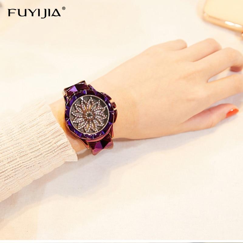 Lady zegarki damskie zegarki kwarcowe panie oglądać kobiet zegar - Zegarki damskie - Zdjęcie 2