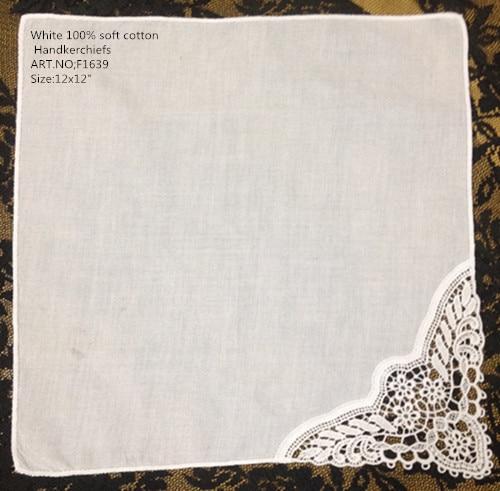 Set Of 12 Fashion Wedding Handkerchiefs 12