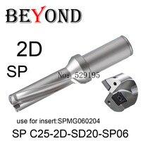 SP C25 2D SD20 SP06/SP C25 2D SD20.5 SP06,Drill Type For SPMW SPMT 060204 Insert U Drilling Shallow Hole indexable insert drills