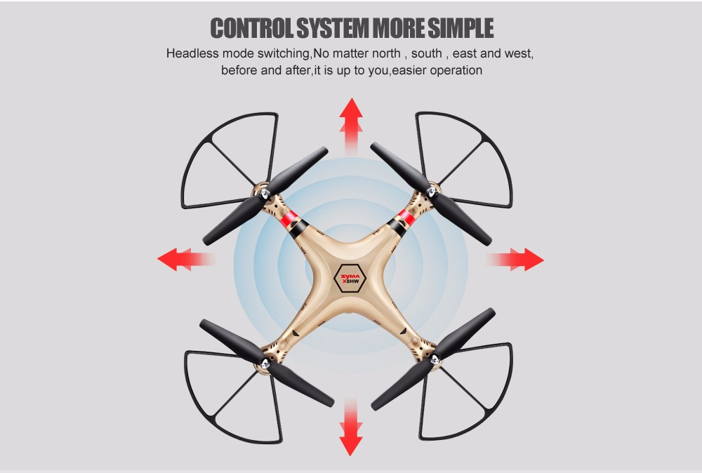 SYMA Official X8HW FPV RC Drone with WiFi HD Camera Real-time Sharing Drones Helicopter Quadcopter Dron with Hovering Function 18