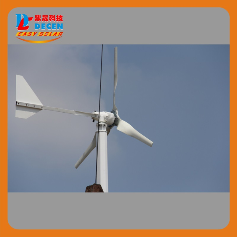 MAYLAR@ 15years 1000W 24V/48V Wind Turbine Dolphin,5pcs Blades,Start Wind Speed 3m/s,CE Certification,
