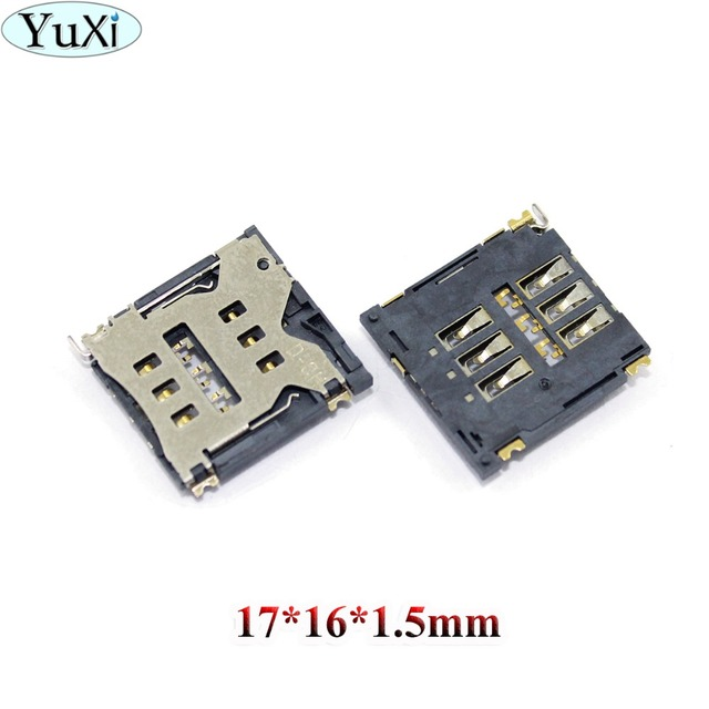 US $0 22 10% OFF|Aliexpress com : Buy YuXi For Goophone i6 plus copy clone  for Phone 6G 6plus 6 Plus SIM Card Reader Connector Socket Holder Tray