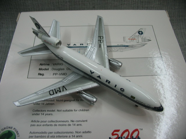 rare IF500 1: 500 Embraer DC-10 pp-vmd Alloy aircraft model Favorites Model bburago 1 18 458 alloy supercar model favorites model