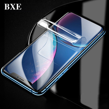 BXE 8D Curved Full Cover Screen Protector On The For Apple iPhone 6 6s 7 8 Plus X Xs Max Xr Soft TPU Film ( Not Tempered Glass )