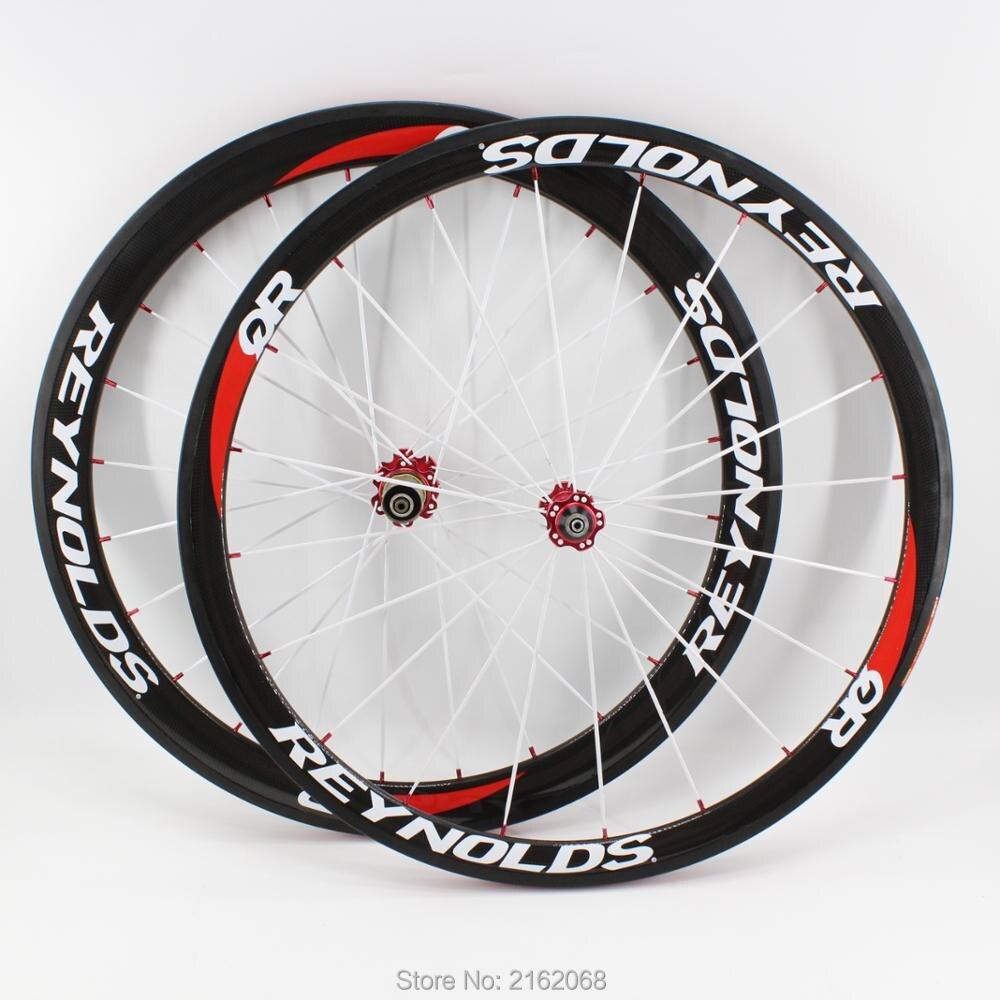Brand new 700C Road bicycle front 38mm rear 50mm 3K full carbon fibre tubular rims bike